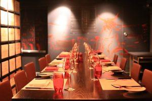 bedrijfsfeest diner